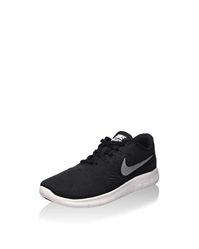 Nike Zapatillas Deportivas Free Rn (Gs) Negro