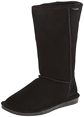 BEARPAW Women's Emma Tall 612-W Boot,Black,5 M US
