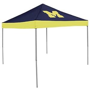 Logo Chair Michigan Wolverines 2 Logo Tent by Logo