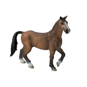 Bullyland 62672 - Animal - Figurine Cheval Marron: Amazon.fr: Jeux et ...