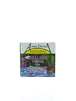 Total Oral Care & Specific for Gingival Recession, Periodontitis, Loose Tooth, Gum Pain, Tooth Sensitivity, Tooth Whitening, Oral Refreshment etc. 100% Organic Plant Powder. Golden Metal Product. Made in USA