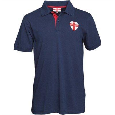 England Mens Polo Navy
