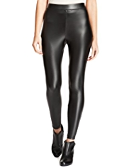 M&S Collection Faux Leather Leggings