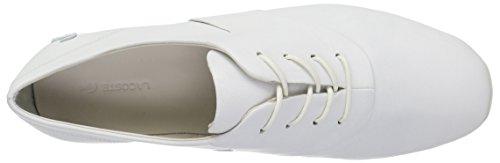 Lacoste Women's Rosabel Lace 316 1 Caw Fashion Sneaker, White, 7.5 M US