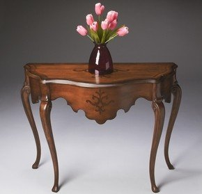 Cheap Butler Cherry Veneer and Antique Cherry Console Table (B004KGHKCG)