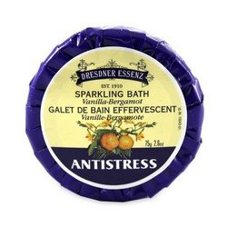 Dresdner Anti Stress Bath Tablets with Vanilla - Bergamot, 8 X 2.6 Ounce