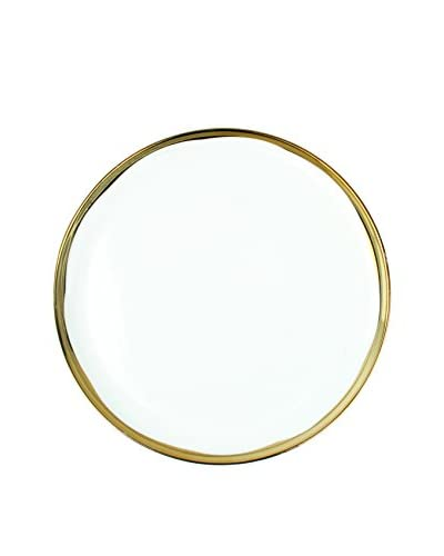 Canvas Home Set of 4 Dauville 8.25″ Salad Plates, Gold