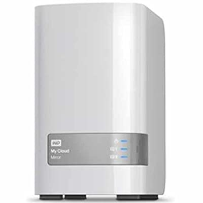 WD 6TB My Cloud Mirror Gen 2 Personal Network Attached Storage - NAS - WDBWVZ0060JWT-NESN
