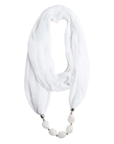 feoya-damen-elegant-schmuckschal-schalkette-halstuch-schlauchschal-mit-gradiente-resinperlen-halsket