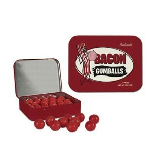 Bacon Gumballs 22 Pieces Novelty Product Gag