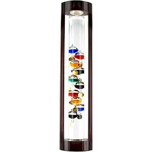 Galileo Thermometer with Stand