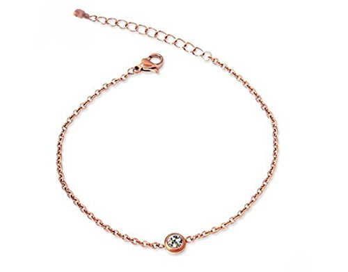 findout. high quality 14K rose gold plated titanium