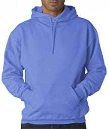 Jerzees - 8 oz 50/50 Pullover Hood, North Carolina Blue, 2XL