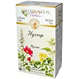 Celebration Herbals, Herbal Tea, Hyssop Bulk Tea, Caffeine Free, 0.84 oz (24 g)