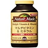 大塚製薬 ネイチャーメイド マルチビタミン&ミネラル 400粒入 NATUREMADE