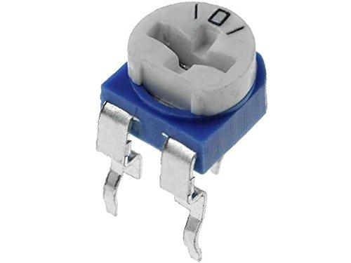 R16148-1B-3-B50K Potentiometer shaft single turn 50kO 125mW ±20% THT