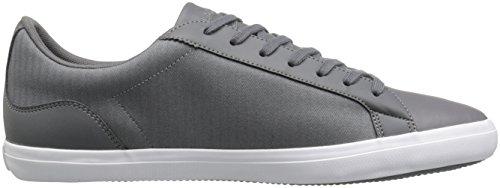 Lacoste Men's Lerond 316 1 Spm Fashion Sneaker, Dark Grey, 9 M US