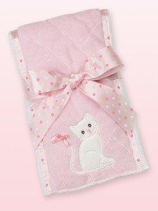 Bearington Collection Purrfect Kitty Burp Cloth
