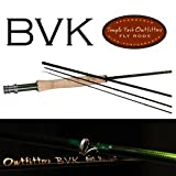 Temple Fork Outfitters BVK Series Fly Rod 9 Foot 6 Weight 4 Piece