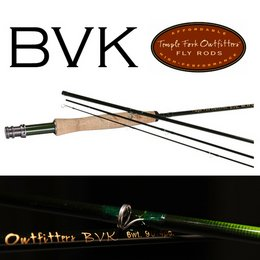 Temple Fork Outfitters BVK Series Fly Rod 9 Foot 9 Weight 4 Piece