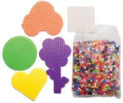 Perler Fun Fusion Hangable Gift Box Kit-Peace And Love; 2 Items/Order