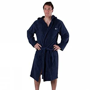 nike long pool robe 366540 451 homme peignoir piscine bleu fonc xs sports et loisirs. Black Bedroom Furniture Sets. Home Design Ideas