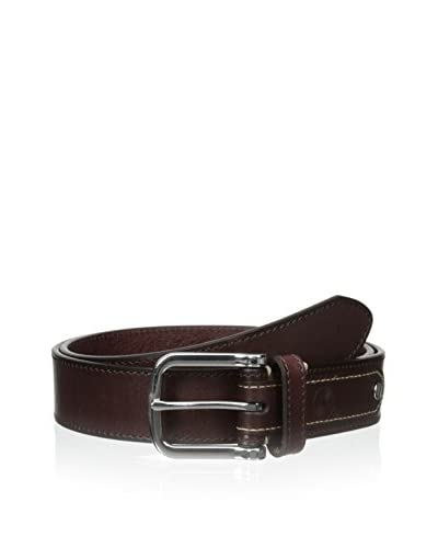 Maker & Company Men's Rivet Detail Tab Belt