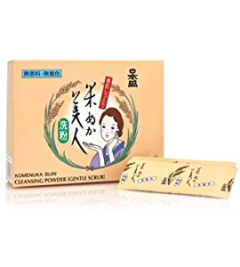Komenuka Bijin Rice Bran Cleansing Powder (30 packets)