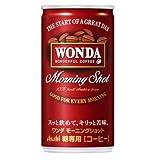 【送料別】アサヒ ワンダ モーニングショット 185g缶×30本