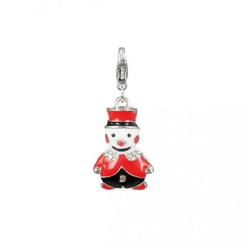 Charm character christmas in steel by Charming Charms