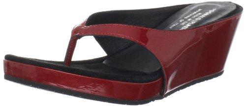 Donald J Pliner Women's Guenna Sandal,Tomato Pearlised Patent,8 M US