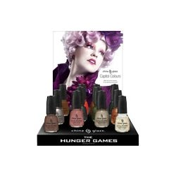 China Glaze Hunger Games 2012 New Collection 12-bottle-set ,Priority Mail Shipping