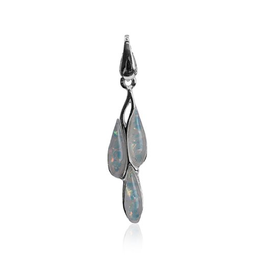 Sterling Silver Imitation Opal Dreams Pendant