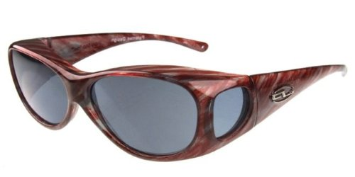 Fitovers Eyewear Sunglasses – Lotus / Frame: Brushed Horn Lens: PDX Amber