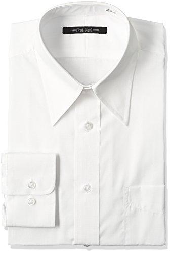 (セシール)cecile アマゾン限定仕様 イージーケアレギュラーカラーYシャツ(細身タイプ) OTH-07 1 ホワイト LL