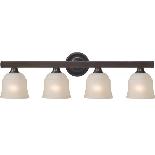 Royce Lighting RV5208-4-117 Brighton 4 Light Vanity Heritage Bronze