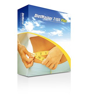 DietMaster 2100 Nutrition Software - Personal Edition Diet Software, Awarded 2011 Best Diet Software - Top Ten Reviews