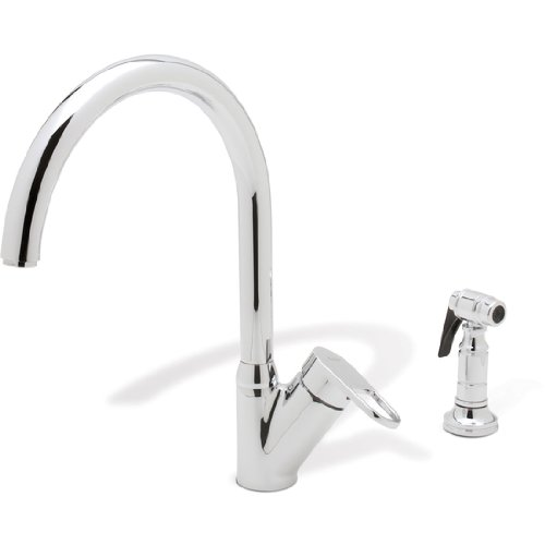 Blanco Neo Rados Kitchen Faucet w/Side Spray - Chrome