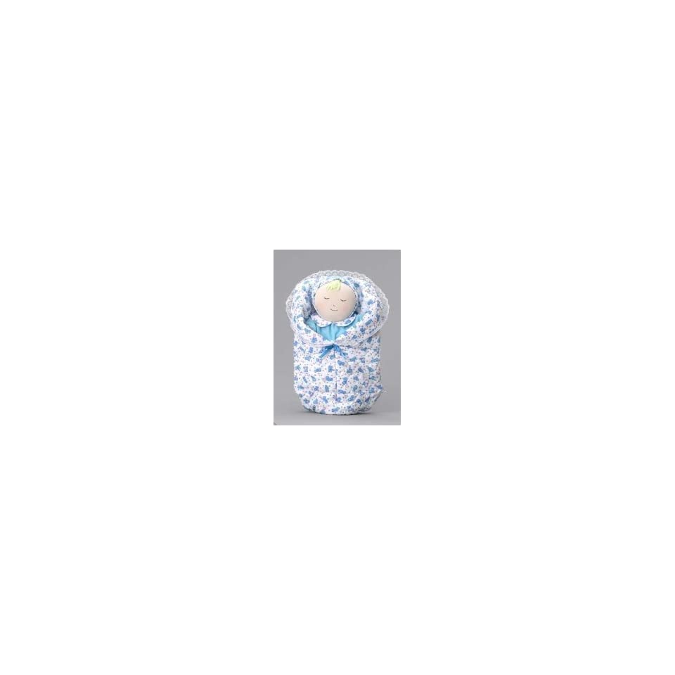 Hug & Hold Baby Puppet Doll WHT/BLU/SP by Childrens
