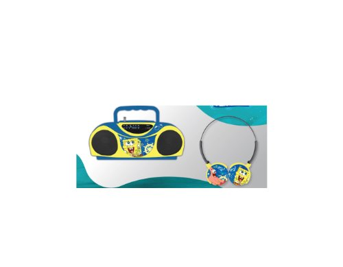 Nickelodeon Spongebob Radio And Headphones 45062