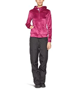 Protest Women's COZY full zip hoody  - Orchid Pink, Large/40