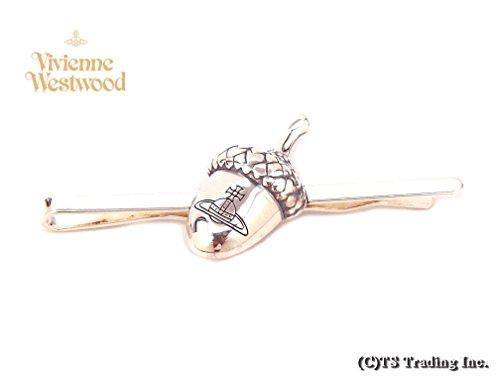 ヴィヴィアン ウエストウッド Vivienne Westwood タイピン Konstantin Orb Tie Pin どんぐり モチーフ オーブ ネクタイピン (SV) [並行輸入品]