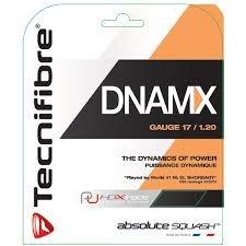 TECNIFIBRE DNAMX SQUASH STRINGS- GAUGE 17/1.2