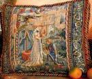 Tapestry Needlepoint - Lancelot  &  Guinevere