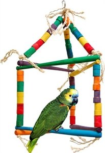Cheap Zoo Max DUS639 Single Triangle Parrot 32in x 18in Large (B002OVBRAA)