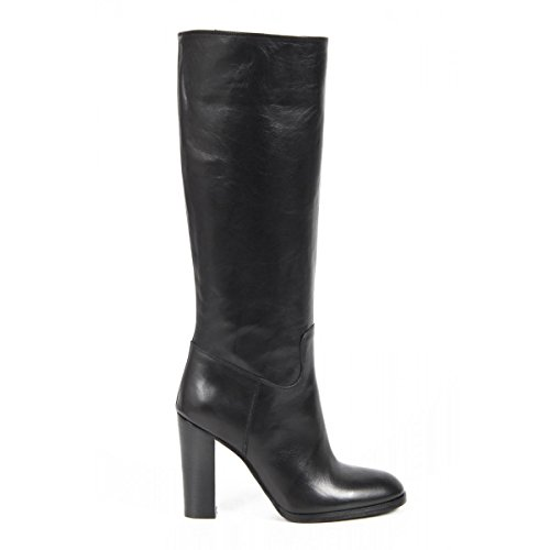 stivali alti donna versace 19.69 abbigliamento sportivo milano ladies boots b670 silk nero -- 39 it - 9 us