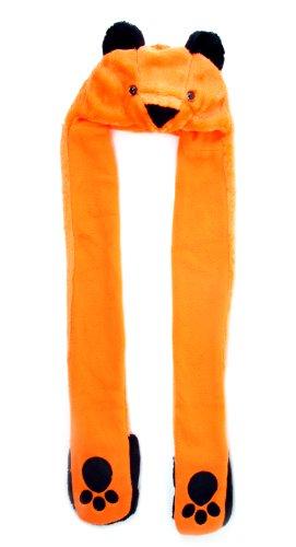 Simplicity Unisex Fashion Animal Hat Bear Paw Scarf Mitten Pocket