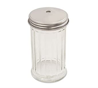 Alegacy Glass Fluted Jar Only, 12 Ounce -- 24 per case.