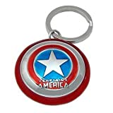 Marvel Pewter Keyring - Shield of Captain America