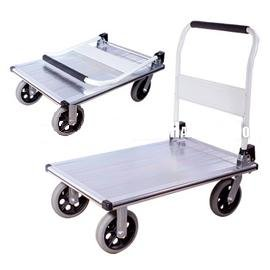 Tyke Supply Large Aluminum Utility Cart / Platform Truck Heavy Duty